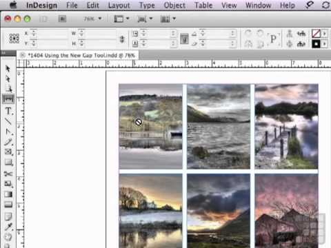 Tutorial on the  Amazing new Gap tool in InDesign CS5