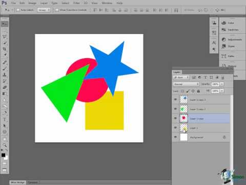 Photoshop CS6 Tutorial: Introduction to Layers - Part 1