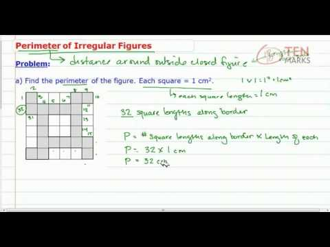 Perimeter of Irregular Figures