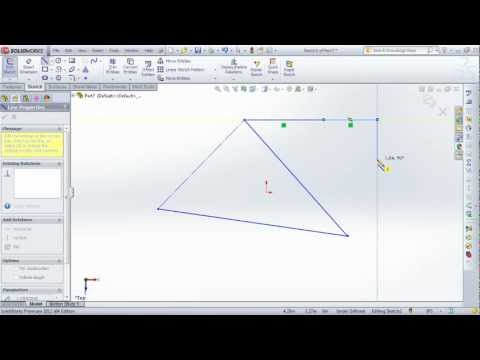 SolidWorks: How to use the Line Tool | lynda.com tutorial