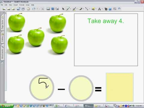 Subtracting Apples