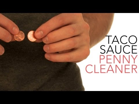 Taco Sauce Penny Cleaner - Sick Science! #017