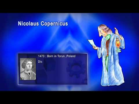 Top 100 Greatest Scientist in History For Kids(Preschool) -  NICOLAUS COPERNICUS
