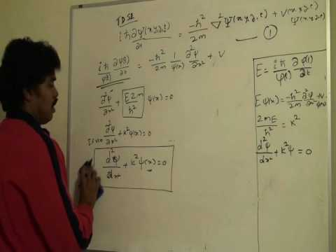 Time Independent Schrodinger Equation - Part 2