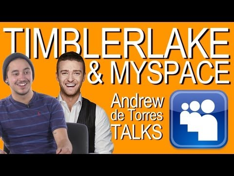 Think Justin Timberlake Can Revive Myspace - Andrew de Torres