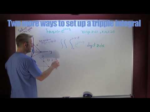 Two more ways to set up a tripple integral b.mov