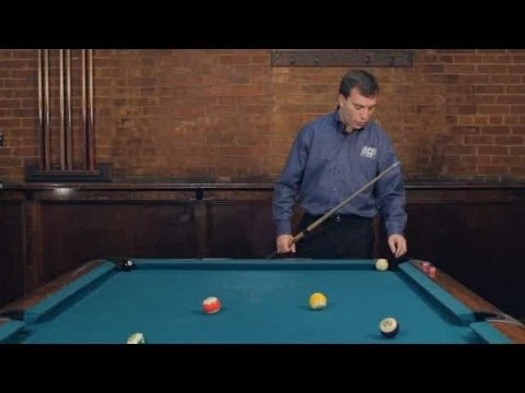 Pool Trick Shots / Beginner Shots: Pocket Point Kick Shot