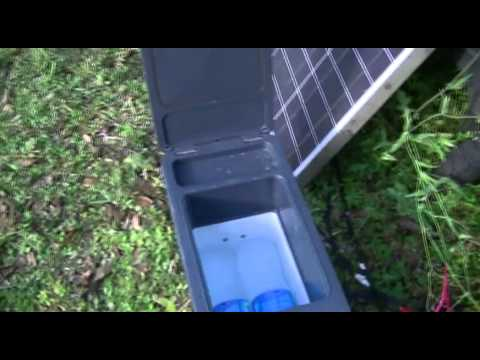 SOLAR COOLING REFRIGERATION thermoelectric Peltier Cooler