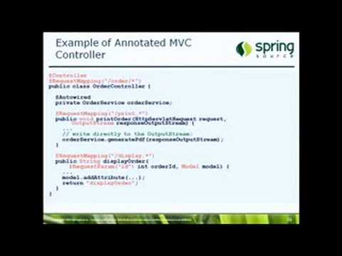 SV-WEB-JUG: Spring 2.5 and Spring Application Platform