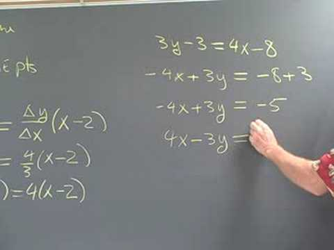 Precalculus Ma 112 Section 1.3 and 1.7 What you can do with a pair of points