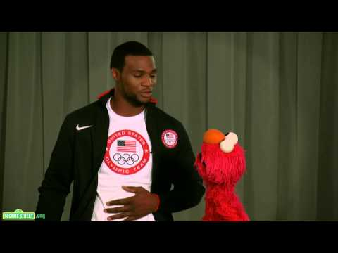 Sesame Street: Elmo and Team USA Olympic Boxer Marcus Browne Discuss Healthy Habits