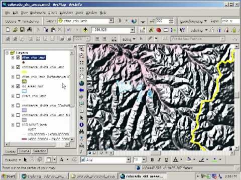 Siting a Ski Area in Colorado:  Lesson Using Spatial Analysis and GIS:  Chapter 10