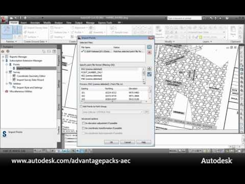 Subscription Advantage Pack Demo: Production Enhancements-AutoCAD Civil 3D 2011