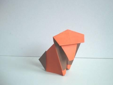 Origami: simple Monkey