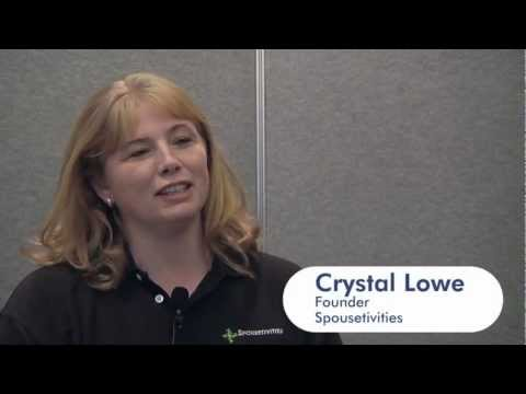 TrainSignal Talks with Crystal Lowe, Founder of Spousetivities, at VMworld 201