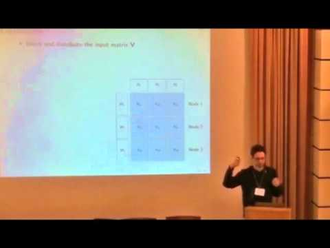 NIPS 2011 Big Learning - Algorithms, Systems, & Tools Workshop: Large-Scale Matrix...