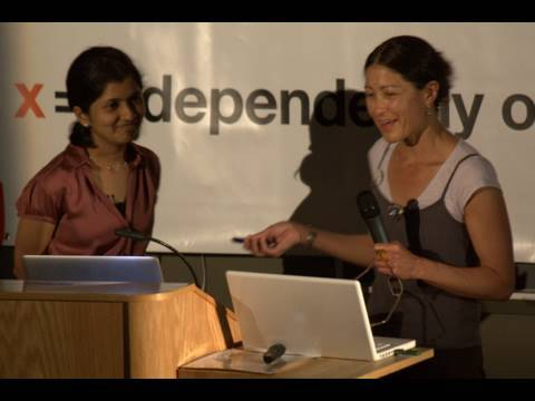 TEDxSB - Kim Yasuda & Seetha Raghupathy - The Place of the University in a Shrinking World
