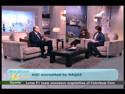 Provost Haroun on Morning Breakfast Show on Nile TV
