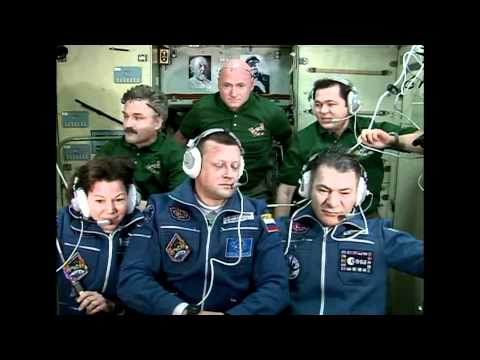 New Crew Members Welcomed to ISS