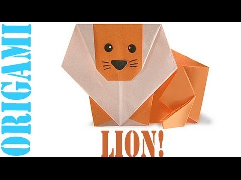Origami Daily - 109: Jungle Lion - TCGames - [HD]