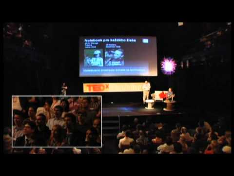 TEDxBratislava - Roman Baranovič & Juraj Platko - A notebook for every pupil