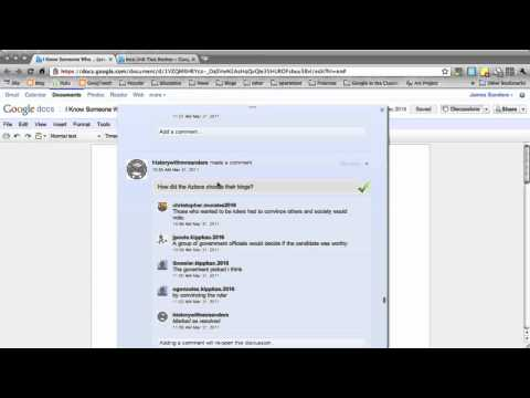 Tip 4 Using Google Docs for Test Review and Discussions