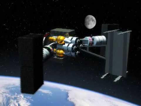 VASIMR Lunar Tug Concept