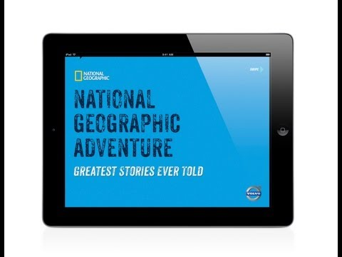 National Geographic Adventure App for iPad