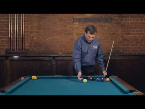Pool Trick Shots / Intermediate Shots: Jump out of the Ring