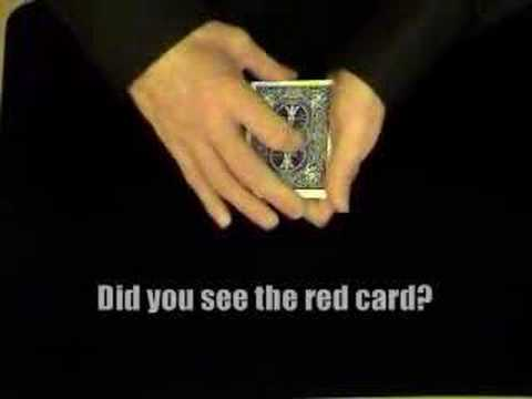 Seeing Red - Card Tricks