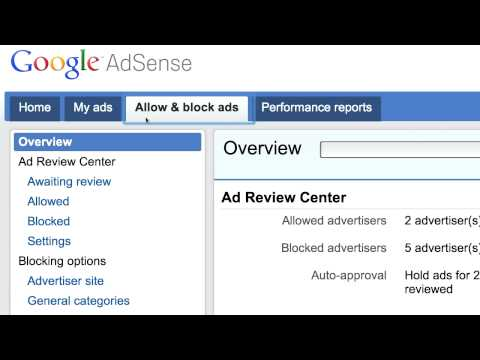 The New AdSense Interface: The Tour