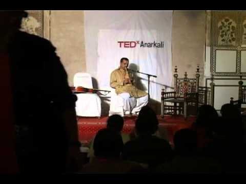 TEDxAnarkali - Muhammad Nafees - The Art of Making Flute & Flute Performance