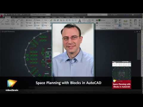 Space Planning with Blocks in AutoCAD Trailer