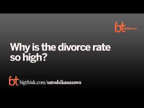 Satoshi Kanazawa: Why We Love and Why We Divorce
