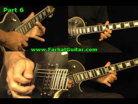 You Shook Me all Night Long  Solo AC/DC Guitar www.Cover FarhatGuitar.com