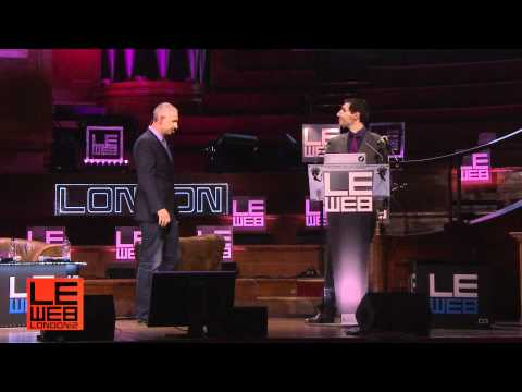 Sam Lawrence & Matt Wilkinson Crushpath - LeWeb London 2012 - Plenary 1