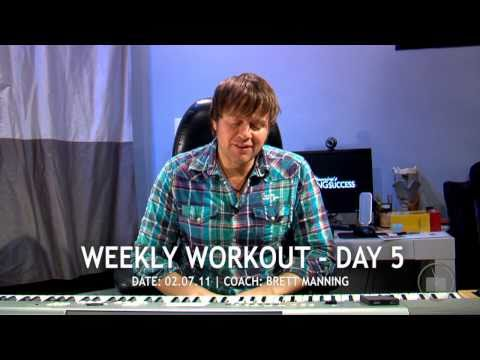 Singing Lessons - Weekly Vocal Warm Up Day 5