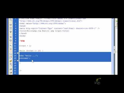 PHP Basics - PHP Loops Part 1