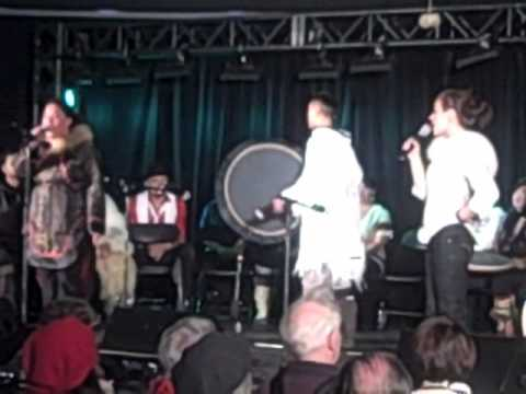 Winter Olympics 2010: Inuit Throat Singers in Vancouver