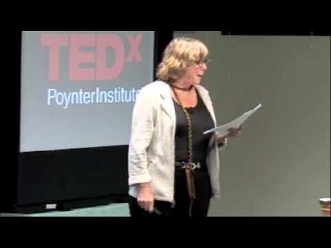 TEDxPoynterInstitute - Nora Paul - Getting Whipped Up About Journalism