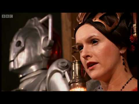 The Cyberking rises from the River Thames - Doctor Who: The Next Doctor - BBC
