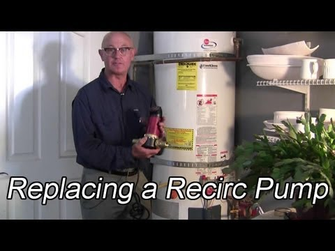 Replacing a Recirculation Pump