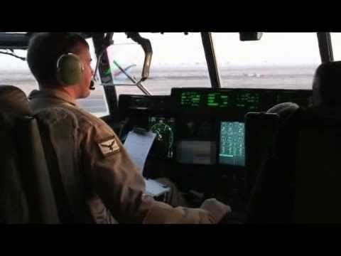 RAAF C-130J on Operations in the MEAO