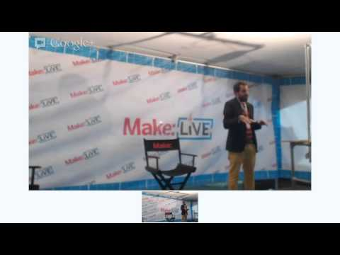 Open Design from Qatar to Cuba on Make: Live Stage at World Maker Faire 2012