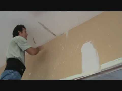 "What's the ""process"" for covering drywall patches?"