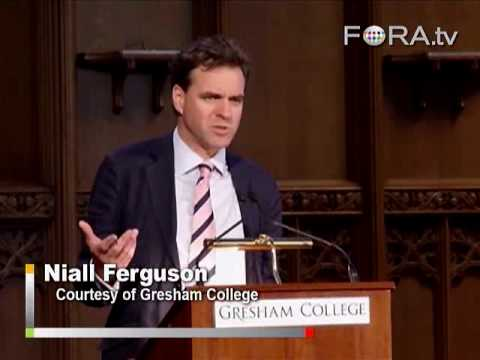 Niall Ferguson Applies Evolutionary Theory to Finance