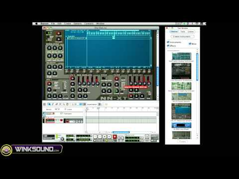 Propellerhead Reason: Create One Shot Samples In The NN-XT | WinkSound