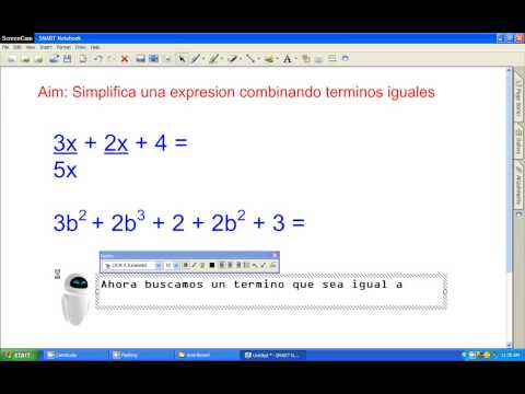 Simplify an expression by combining like terms