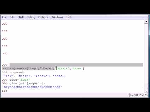 Python Programming Tutorial - 18 - Cool String Methods