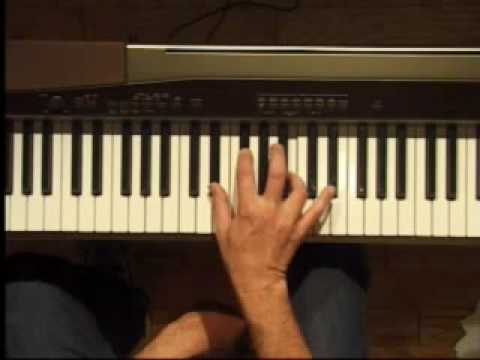 Piano Lesson - B Major Triad Inversions (Right Hand)